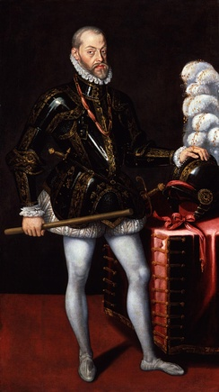 Philip II of Spain c. 1580, National Portrait Gallery, London