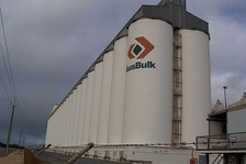 Grain silos at Port Giles, South Australia