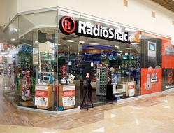 The exterior of a RadioShack store in a shopping mall in Puerto Vallarta, Mexico (2005).