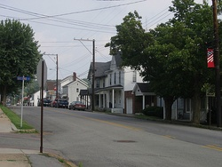 Main Street in Shanksville