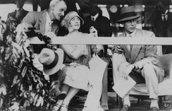 The Duke (right) and Duchess of York in Queensland, 1927