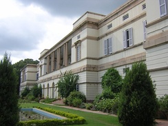 Teen Murti Bhavan, Nehru's residence as Prime Minister, now a museum in his memory