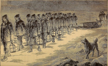 The Funeral of Captain Charles Francis Hall