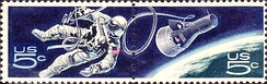 Accomplishments in Space Commemorative Issue of 1967