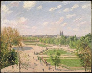 The Garden of the Tuileries on a Spring Morning, 1899. Metropolitan Museum of Art