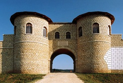 Porta Decumana at Weißenburg, Bavaria, Germany