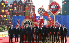 Launching of a 1,000 days countdown in Moscow