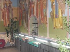 Музейная экспозиция в Храм-памятнике Сергия Радонежского на Куликовом поле