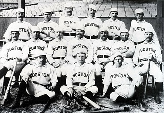 The Boston Reds won pennants in the Players' League and the American Association before going defunct