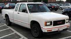 1991–1994 GMC Sonoma ST extended cab