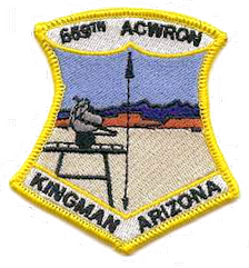 Emblem of the 659th Aircraft Control and Warning Squadron