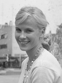 A smiling Bibi Andersson