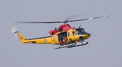 CH-146 Griffon in SAR markings