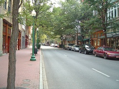 Capitol Street in downtown Charleston