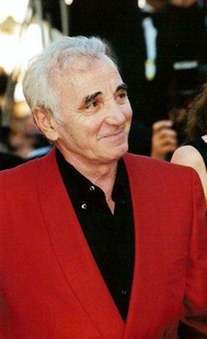 Aznavour at the 1999 Cannes Film Festival.