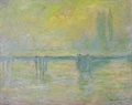 Claude Monet, Charing Cross Bridge, brouillard, 1902.
