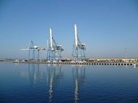 The port of Limassol, the busiest in Cyprus