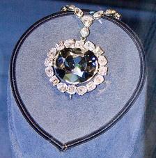Алмаз Хоупа в Музее естественной истории