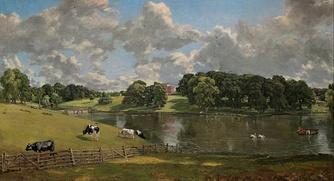 Wivenhoe Park (1816). National Gallery of Art, Washington