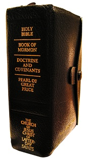 Compendium of the LDS Standard Works: the Bible, Book of Mormon, Doctrine and Covenants and Pearl of Great Price. Unlike Islamic views of the Quran, the LDS Church regards approved versions of these works in any language to be just as authentic as the originals.