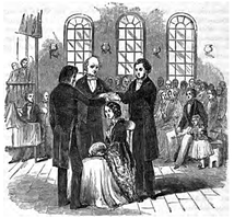 A Latter Day Saint confirmation circa 1852