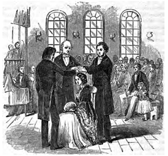 A Latter Day Saint confirmation c. 1852