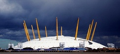 Millennium Dome in London, UK, by Richard Rogers and Buro Happold