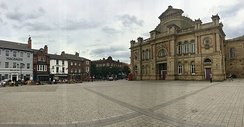 Doncaster Market Place Panoramic