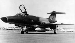 RF-101C-55-MC (56-0220), assigned to 18th TRS, 460th TRW. This aircraft was shot down by a SAM over North Vietnam on 7 March 1966, killing the pilot.