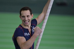 French pole vaulter Renaud Lavillenie was elected to the Athletes' Commission in 2019.