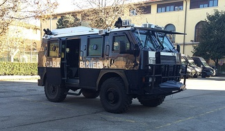 Carabinieri RG-12 in Florence, Italy.