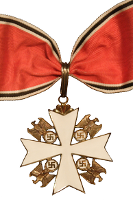 Grand Cross of the German Eagle, an award bestowed on Ford by Nazi Germany