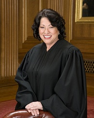 Sonia Sotomayor, the first Hispanic Supreme Court Justice