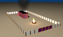Tabernacle Mishkan Tent - The Desert tabernacle