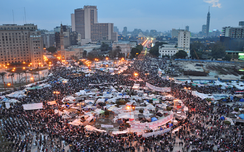 Tahrir Square in Cairo as urban commons