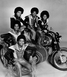 The Jackson 5 in 1977.