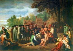 Penn's Treaty with the Indians by Benjamin West