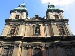 University Church (Egyetemi templom), a well-preserved example of Baroque architecture in Budapest