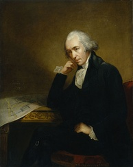 James Watt in 1792 by Carl Frederik von Breda