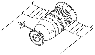 Drawings for the Zond L1 circumlunar spacecraft