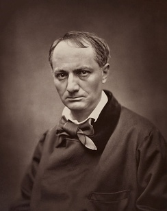 Portrait of Charles Baudelaire (c. 1862), whose writing was a precursor of the symbolist style