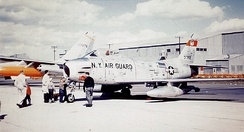 136th Fighter-Interceptor Squadron - North American F-86H- Sabre 53-1355.jpg about 1957