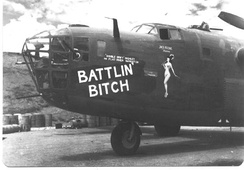 14th Air Force B-24, China, c. 1944.