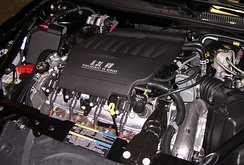 General Motors LS-series V8 installed in a Chevrolet Impala