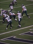 McNabb audibles during the 2008 NFC Wild Card Game