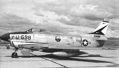 F-86D Sabre of the group's 497th FIS