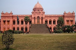 Ahsan Manzil was once the palace of the Dhaka Nawab Family; it is now a national museum