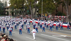Londonderry High School Marching Lancer Band, from New Hampshire during the 2004 parade