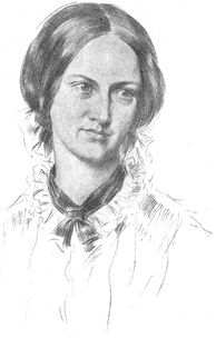 Charlotte Brontë, probably by George Richmond (1850)