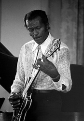 "The guitar solo on Chuck Berry's 1955 single ""Maybellene"" features ""warm"" overtone distortion produced by an inexpensive valve (tube) amplifier."